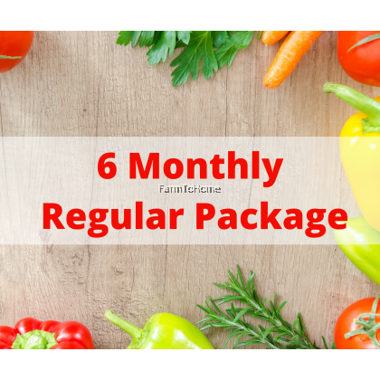 6 Month Monthly Regular Box Subscription (FREE RM600 Sentai Cash Voucher or XTY Package worth RM980)